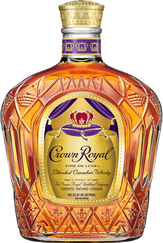 Crown Royal Deluxe Whisky Bottle - Blended Canadian Whisky - Crown Royal