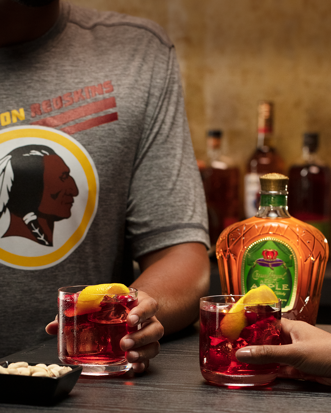 Here's to making sure you don't miss a word of Hail to the Redskins #CrownYourGameDay