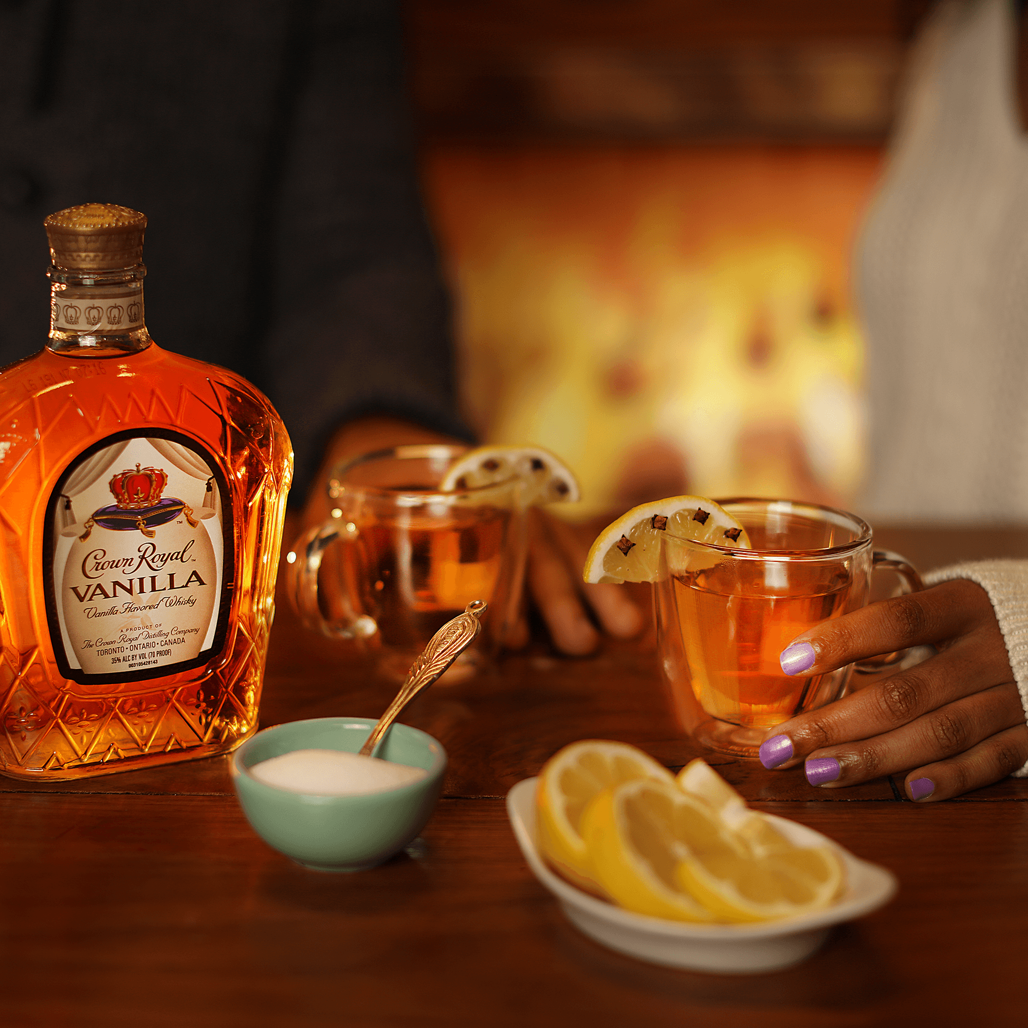 Crown Royal Vanilla Hot Toddy Cocktail