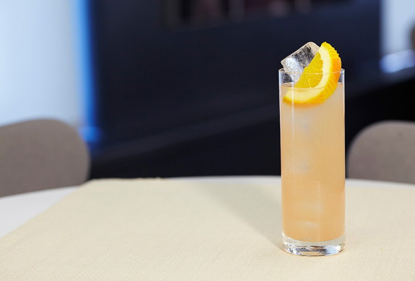 Crown Royal® Maple Finished Whisky Collins Drink Recipe