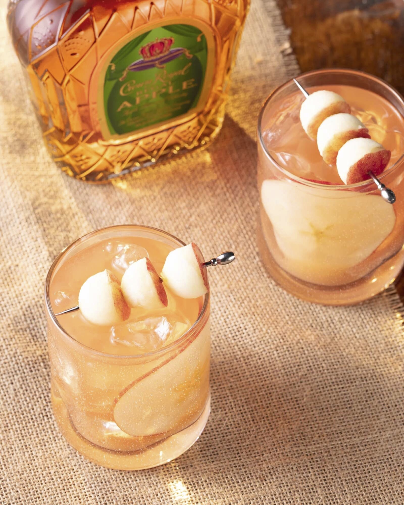Crown Royal Apple Bomb Whisky Cocktail