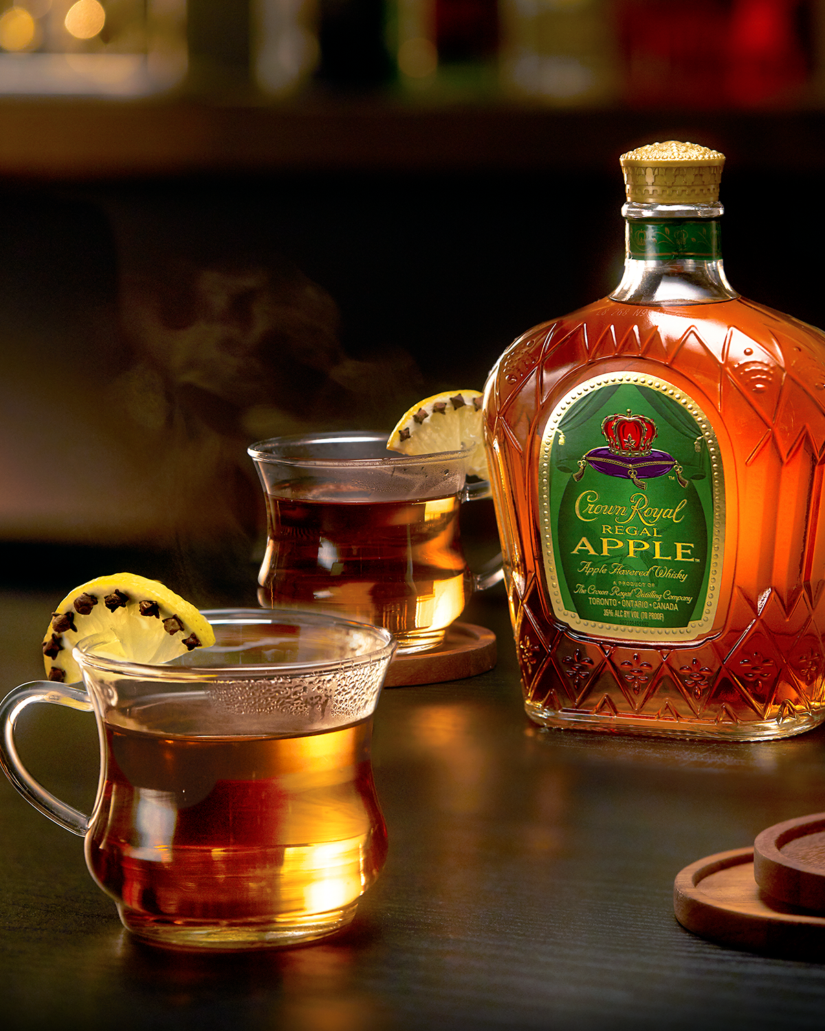 Crown Royal Apple Hot Toddy Whisky Cocktail
