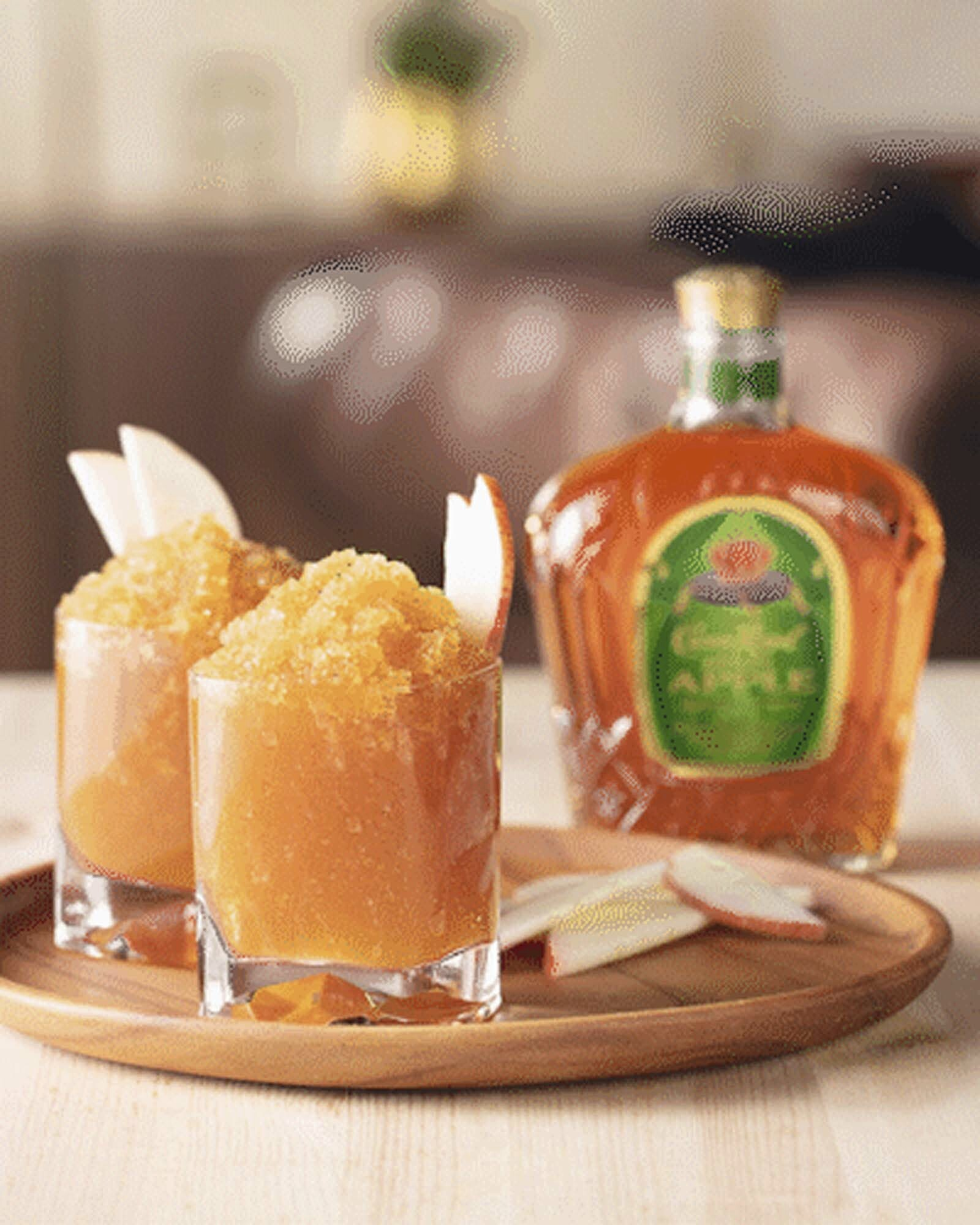 Crown Royal Apple Whisky Slush Whisky Cocktail