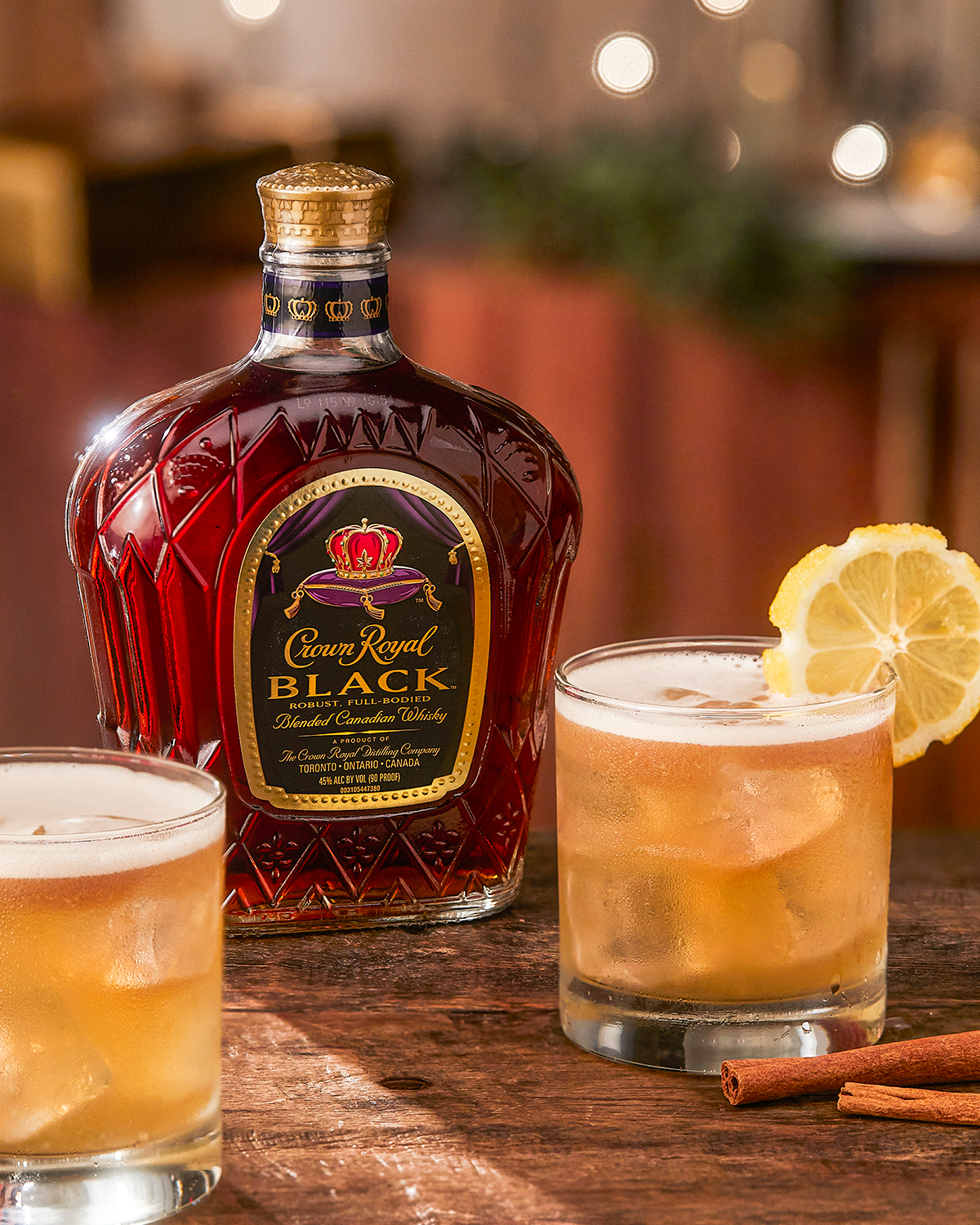 Crown Royal Black Whisky Sour Whisky Cocktail