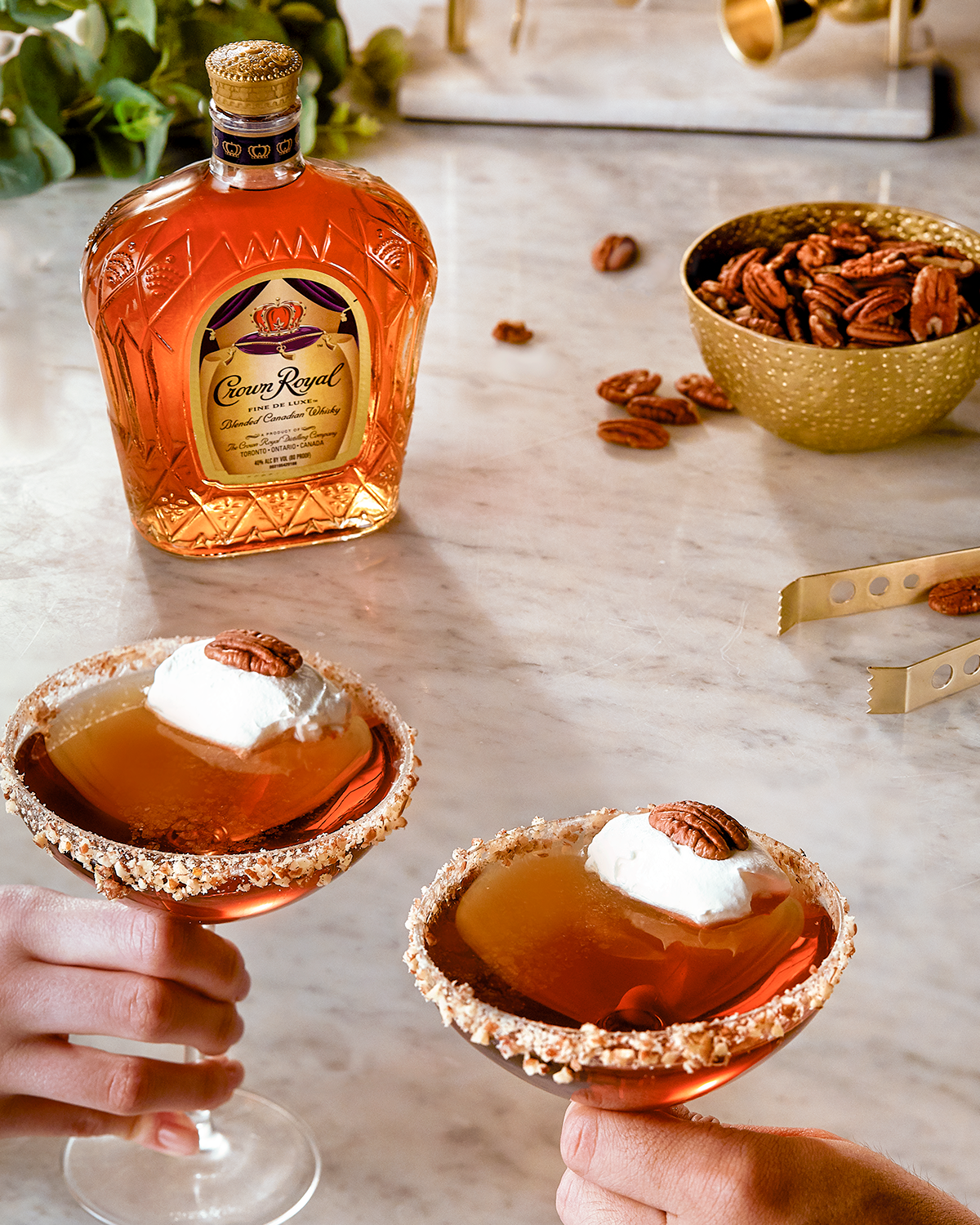 Crown Royal Crown Pecan Pie Whisky Cocktail