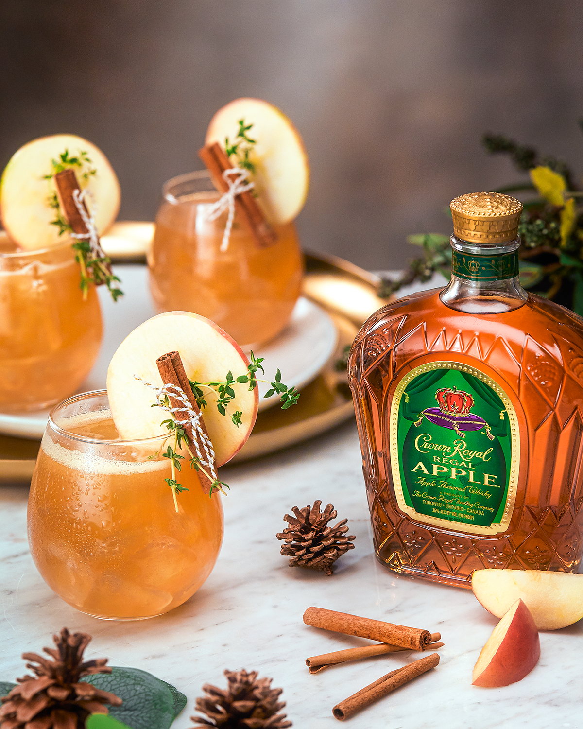 Crown Royal The Maple Apple Whisky Cocktail