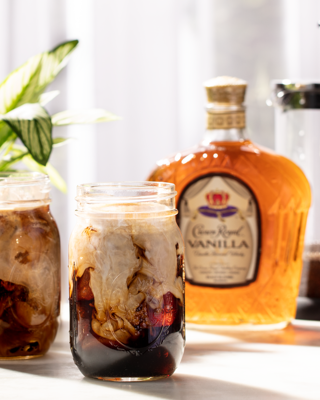 Crown Royal Royal Vanilla Iced Coffee Whisky Cocktail