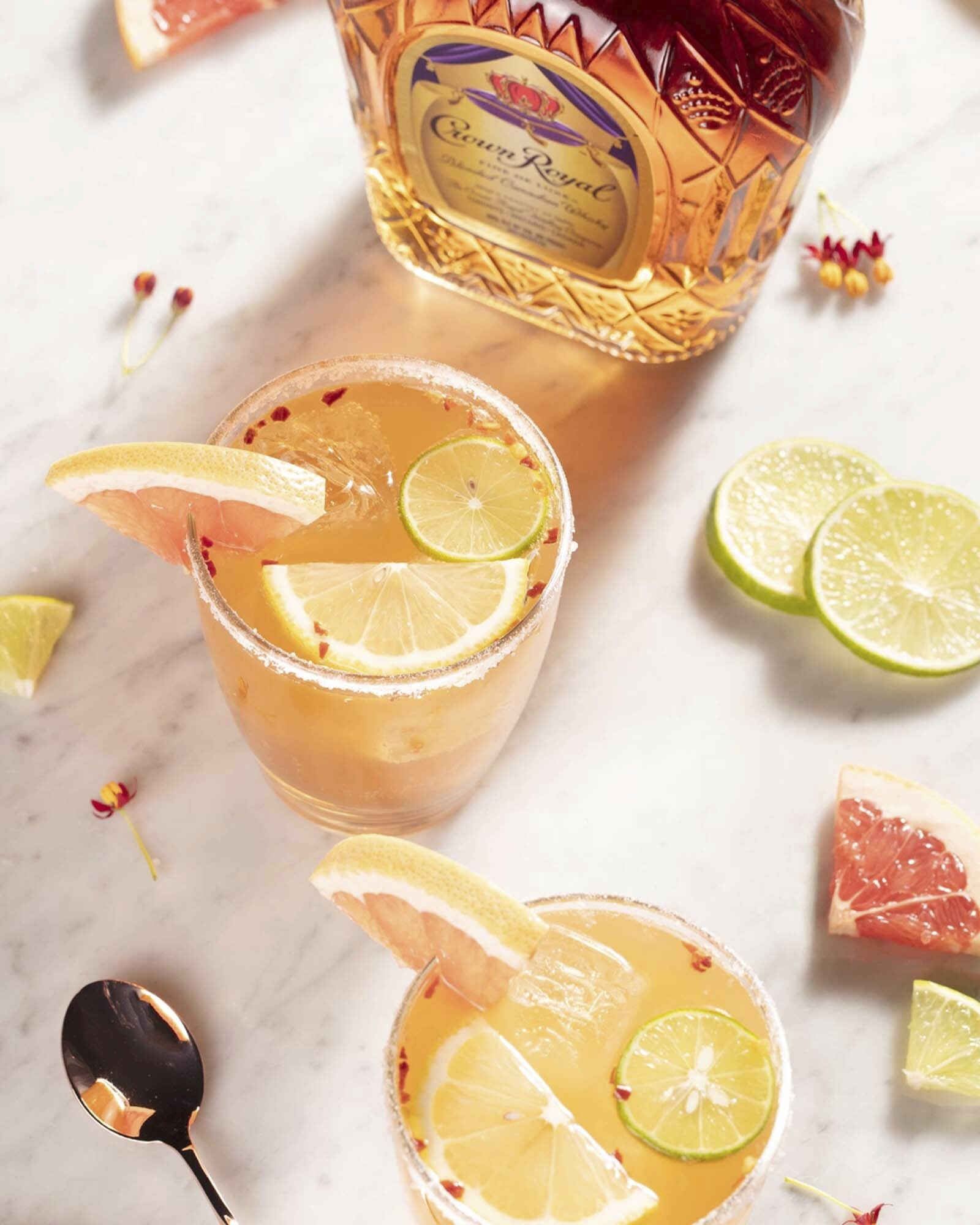 Crown Royal Whisky Paloma Whisky Cocktail